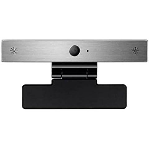 LG AN-VC550 - Cámara para TV (USB, micrófono, control de movimiento), color plateado