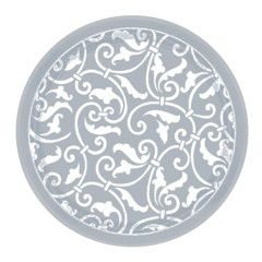 amscan-international-paper-plates-177-cm-ornamental-scroll-pack-of-8-silver