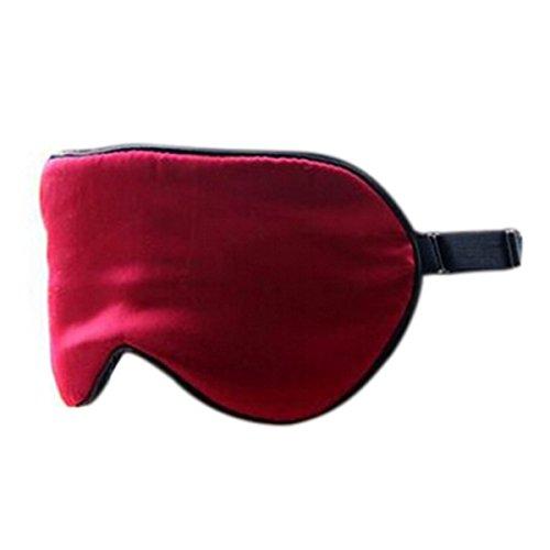 Hee Grand Kunstseide Augenmaske Schlafmaske Rot