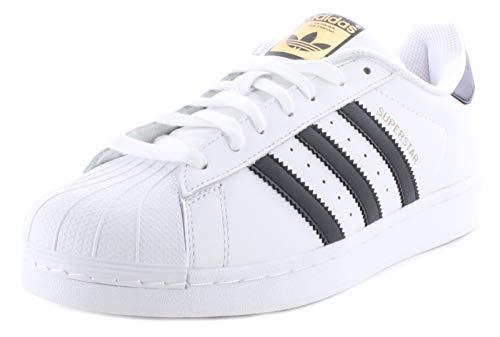 new arrival d70aa c14c7 adidas Superstar C77124, Baskets Mode Homme - Blanc -EU 42