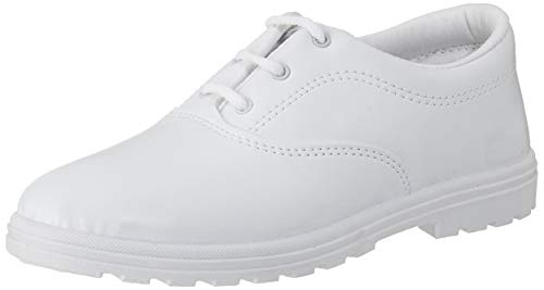 Lakhani Unisex Kid's White Sneakers-2 UK/India (34 EU) (Good Time (SW) 248)