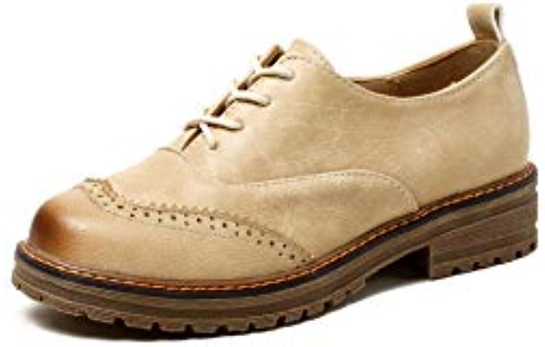 Wouomo Block Heel Heels Round Head scarpe | Sensazione Di Comfort  | Uomini/Donna Scarpa