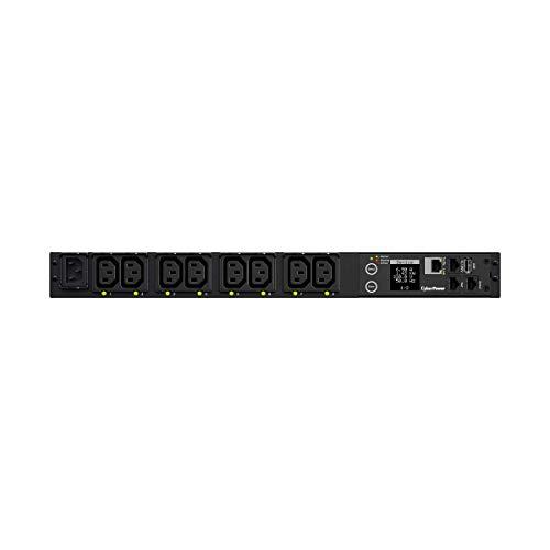 CYBERPOWER Swiched PDU41004230V/15A 1U 8X IEC-320 Ausgang Netzwerkanschluss PowerPanel Center Software - Cyberpower Pcs