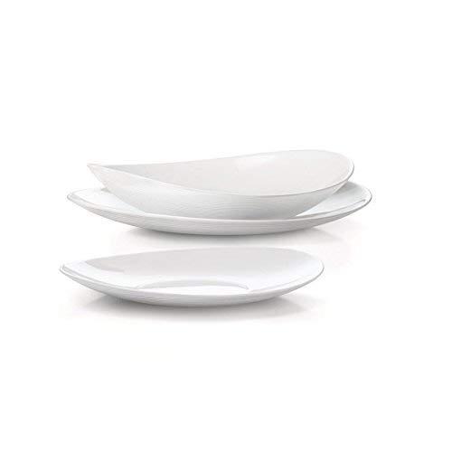 Offerta servizio piatti prometeo bianco bormioli x 12 persone 36 pezzi