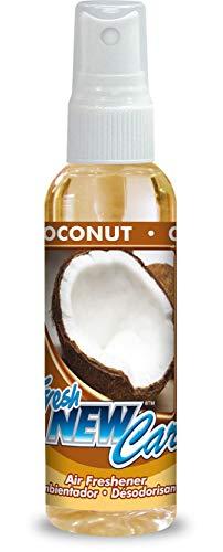 Fresh New Car-Deodorante Auto Profumo Deodorante per ambienti 60ML in der fragranza cocco-cocco