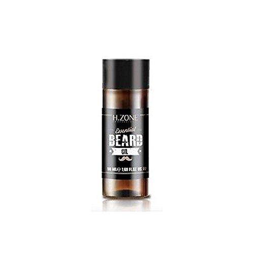 Olio Lucentezza per Barba e Baffi H-Zone Essential Beard Oil 50ml Renèe Blanche