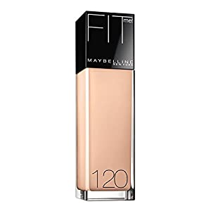 Maybelline New York Fit Me! Foundation, 120 Classic Ivory, Spf 18, 1 Fluid Ounce