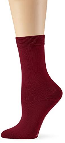 Burlington Damen Lady Socken, per pack Rot (chianti 8370), 36/41 (Herstellergröße: 36-41)