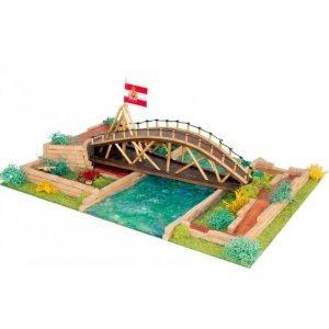 Keranova- Kit de cerámica Puente de Leonardo da Vinci, Color marrón (30251)