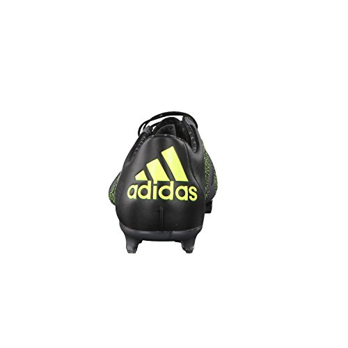 adidas X15.1 FG/AG Leather, Chaussures de football homme Negro / Gris / Amarillo