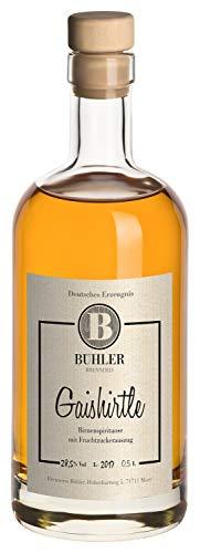 Birnenspirituose Stuttgarter Gaishirtle, Milder Birnenbrand, Brennerei Bühler, Fruchtig & Weich, 28,5% Vol, 0,5L