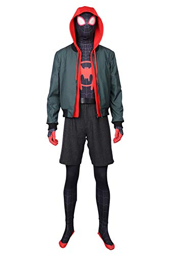 RedJade Miles Morales Spider-Man: Into The Spider-Verse Outfit Cosplay Kostüm
