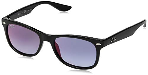 Ray-Ban Sonnenbrillen Junior New Wayfarer JUNIOR RJ 9052S Black/Blue Shaded Kind