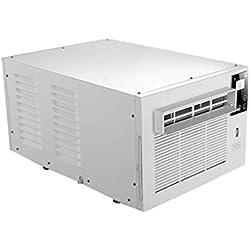 Climatiseur De FenêTre, Mini Climatiseur Compact à éCran Tactile LED, éQuipé d'une TéLéCommande Infrarouge à Distance
