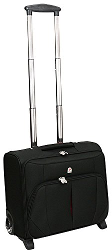 """Laptop-Rollkoffer - Business-Koffer mit 2 Rollen - Laptopfach bis 16\"""" - Weekender"""