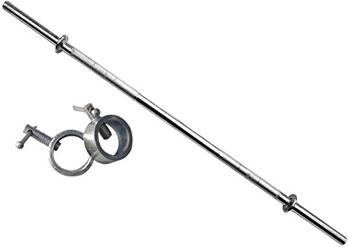 Sporto Fitness Home Gym Set 9 Steel Rod (Silver)