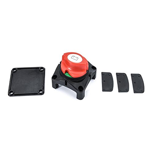 ROKOO Car Auto SUV RV Marine Boat 12V Battery Isolator Disconnect Rotary Switch Cut - Light Switch Rotary