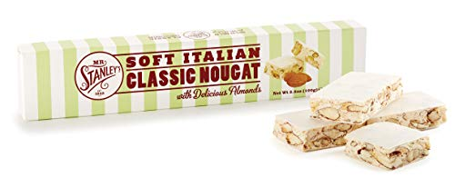 Mr Stanleys Soft Italian Nougat Bar 100 g (Pack of 2)