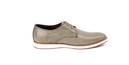 Hommes À Lacets Élégantes Décontracté Bureau Chaussures Mariage Italian Robe Travail Habillé taille UK Gris