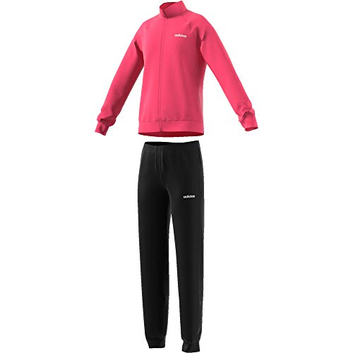adidas Mädchen Trainingsanzug Entry Tracksuit REAL PINK S18/white/black 140