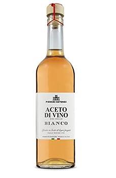 Poderi Estensi Vinaigre de Vin Élevé en Barrique 500 ml - Lot de 3