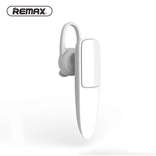 Remax RB-T13 HD Call Business Bluetooth Headset Caller ID Sports Music Bluetooth Headset Fast delivery (White no packag) -