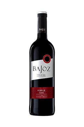 Bajoz Roble Toro Vino Tinto - Paquete De 6 X 750 Ml - Total: 4500 Ml