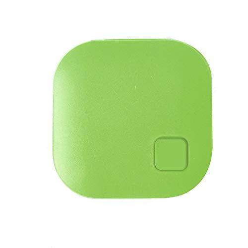 Igemy Telefon Anti-verlorene Kind Smart Tag Finder Haustier GPS Locator Alarm Brieftasche Schlüssel Blueteeth Tracker (Grün)