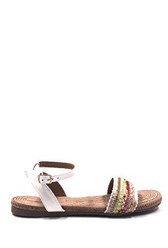 CHIC NANA . Chaussure Femme Mode Sandale Plate à Perle.