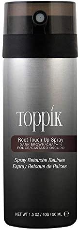 Toppik Root Touch Up Spray Dark Brown, 50 ml
