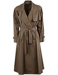 Max Mara Mujer 11210192600027 Marrón Algodon Trench Coat