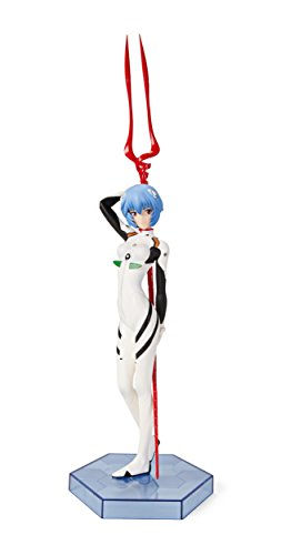 Evangelion Rei Ayanami and Spear of Longinus PVC Figur (Spears Pvc)