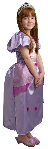 Lea Prinzessin Kostüme (Disguise Prinzessin Lea Kostüm mit Tiara für Kinder)