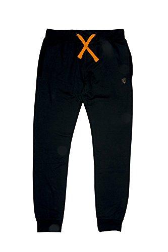 Fox Black Orange lightweight Jogger - Angelhose, Anglerhose, Hose zum Angeln, Jogginghose, Größe:XL