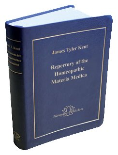 Repertory of the Homeopathic Materia Medica par James Tyler Kent