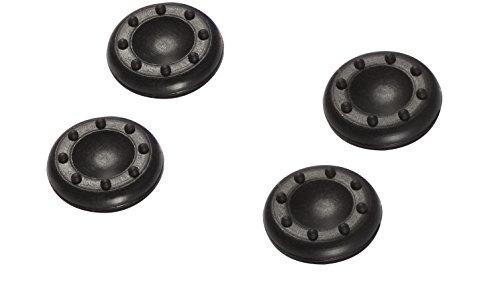 snakebyte PS4 CONTROL:CAPS (4x schwarz) - Analogstick Aufsätze für Dualshock 4 Controller - für PlayStation 4