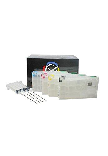 Cartucce Ricaricabili per Epson serie 78 / 78XL per stampanti Epson WorkForce Pro WF - 5620 DWF/WF - 5620 DWF/WF - 5110 DW/WF - 5690 DWF/WF - 5190 DW
