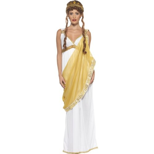 Smiffys Karneval Damen Kostüm Helena von Troja griechischer Mythos Größe - Helena Von Troja Kostüm