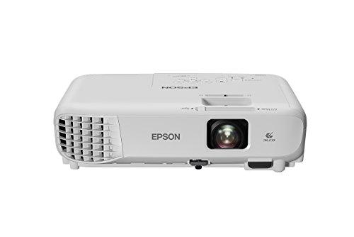 Epson EB-X05 - Proyector XGA, Pantalla de hasta 300 pulgadas, 3.300 lúmenes, Tecnología 3LCD, Blanco