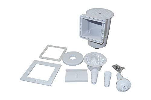 SPIRATO PD de 01878Skimmer Superficie conectora, Color Blanco