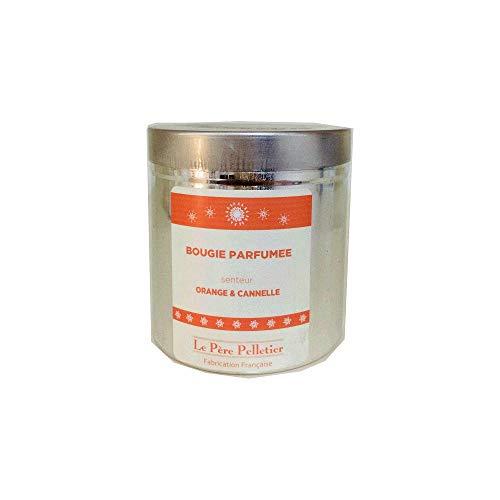 LE PERE PELLETIER - Bougie Boite Alu Orange Cannelle