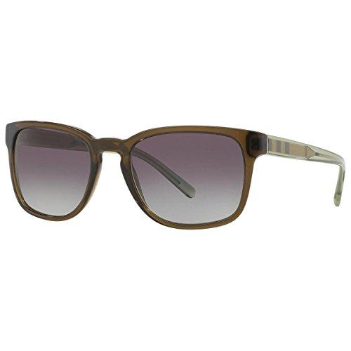 22 Sonnenbrille, Grün (Gestell: klares olivgrün, Gläser: grau-verlauf 30108G), Medium (Herstellergröße: 55) ()