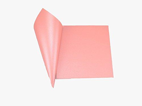 50pz coni di carta perlata lucida 250gr misura 15*15 cm materiale fai da te diy portariso portaconfetti bomboniera (rosa scuro)
