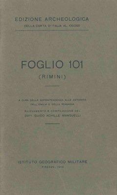 Rimini (Foglio 101).