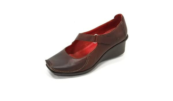 76070a19 clarks active air finis blaze ebony brown wedge shoes uk ...