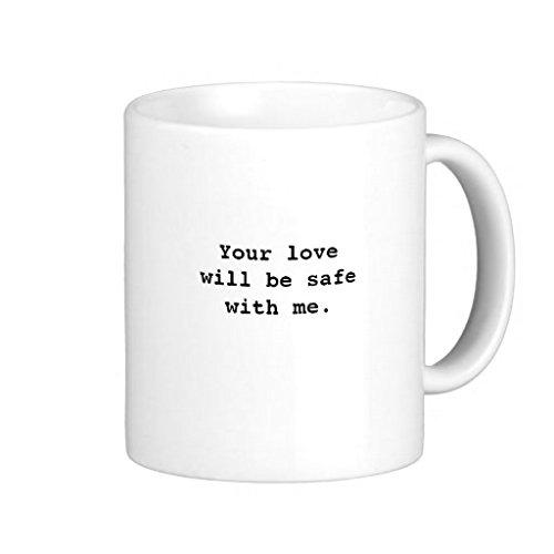 hugginscx Bon Iver re Piles classique Blanc Tasse à café