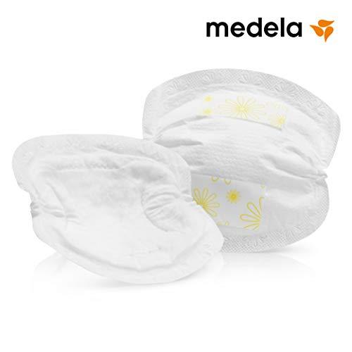 Medela Einweg-Stilleinlagen, seidenweich, hygienisch, saugfähig, 60 Stück