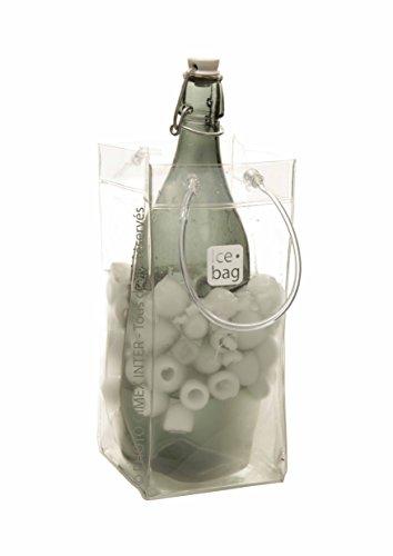 Gimex 17407Ice Bag Basic Flaschenkühler 1klar, 11 x 11 x 26.5