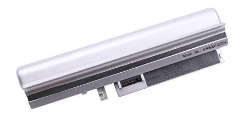 vhbw Batterie LI-ION 4400mAh 10.8V Argent Compatible pour Lenovo remplace 40Y8319 / 40Y8321 / ASM 92P1219