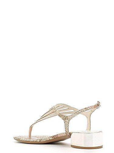 GRACE SHOES 0-72107 Sandalo infradito Donna Nero